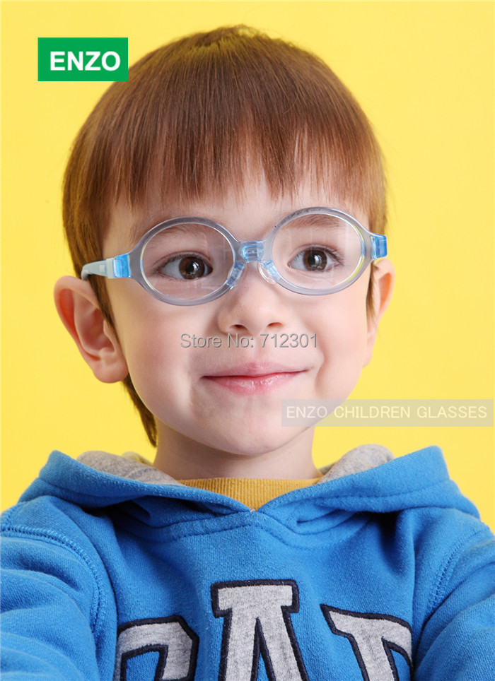 625b8f2c071c Boys Girls Glasses Flexible No Screw Size 40mm, Silicone Bendable Baby  Eyewear, Italian TR90 Kid's Toddler Eyeglasses Frame-in Men's Eyewear Frames  from ...