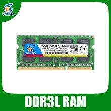 VEINEDA Sodimm DDR3L 2GB Ram Memorry ddr 3 1600Mhz For Intel AMD laptop Ram ddr3-1333 Memory