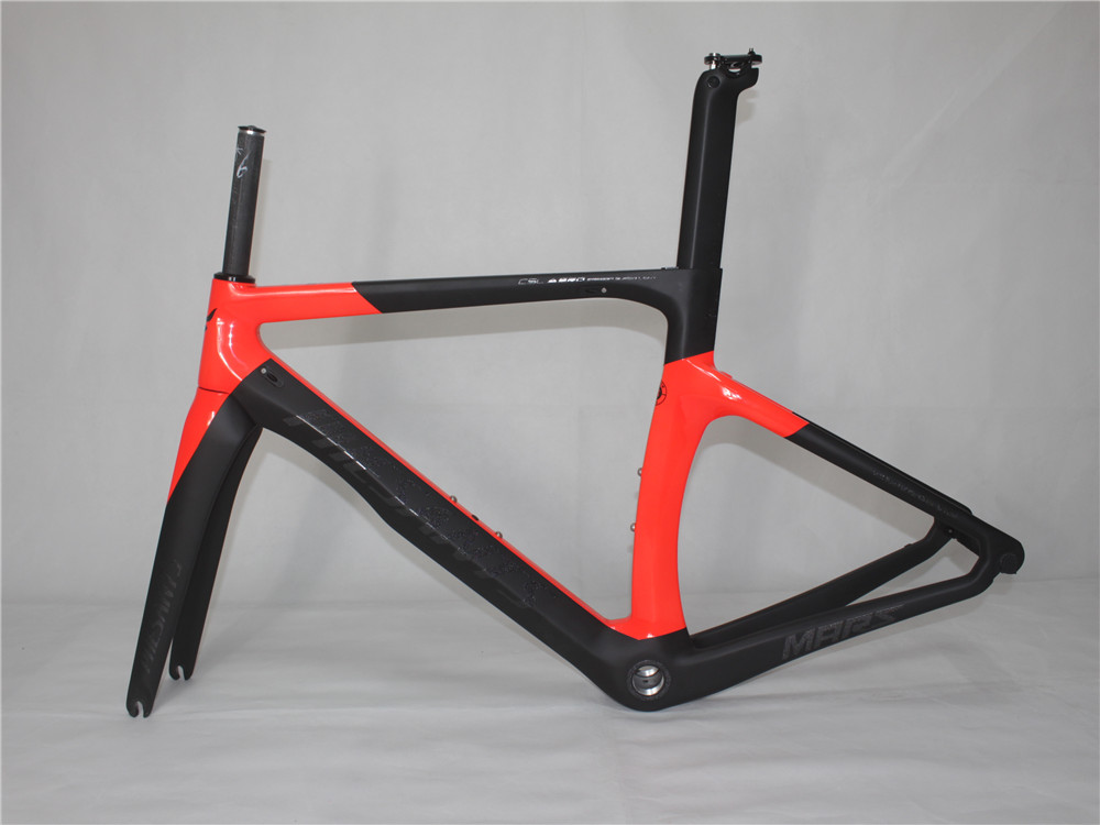 2019 PHESANTS MARS Black Red T800 Carbon Fiber Road Bicycle Frame Bike Carbon Frame 5 Sizes Choice Two Years Warranty