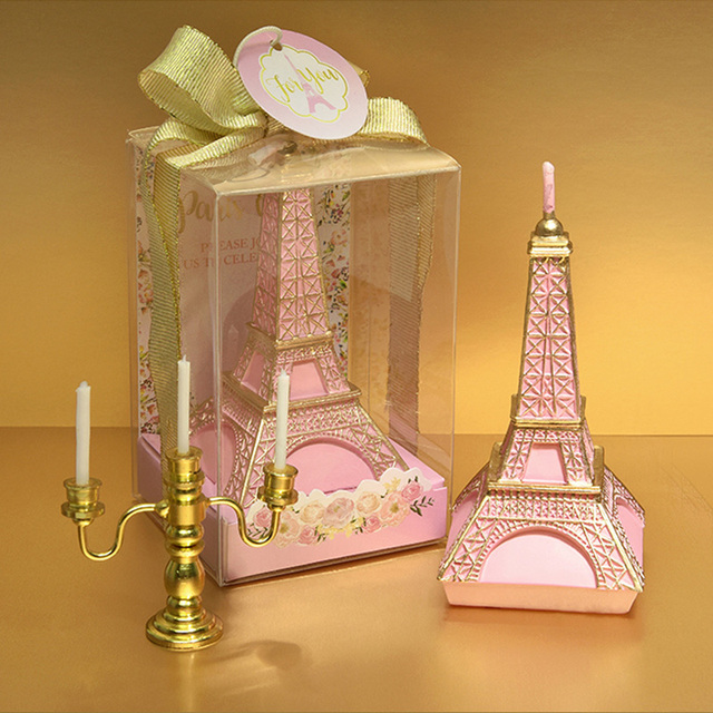 Kreative Mini Eiffelturm Geburtstag Kerze Romantische Valentinstag