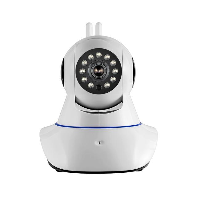 Antena dupla câmera de segurança sem fio câmera ip wifi 720 p hd câmera de segurança cctv sistemas de alarme digital motion sensor de alarme