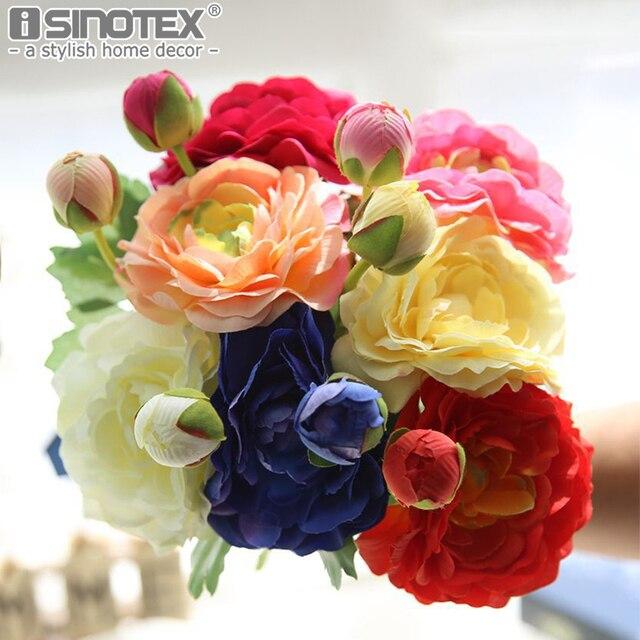 Kunstbloemen Diy Zijde Decoratieve Bloemen Nep Bloem Rose Boeket