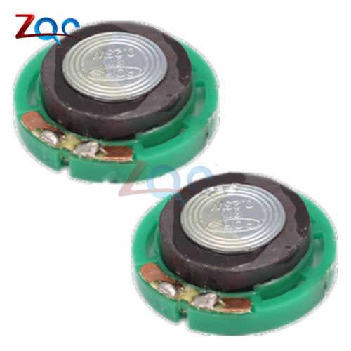 2 قطعة 8R 8 أوم 0.25 W صغيرة المتحدث قطر 29 مللي متر المتكلم مكبر الصوت البسيطة مكبر كهربائي القرن مكبر الصوت البوق 0.25 واط