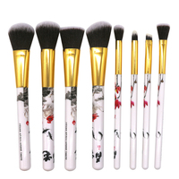 2018 Hot Sale New 8pcs Set Chinese Style Printing Ink Painting Suit Tools Foundation Wool Fiber