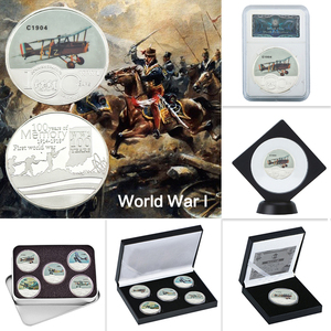 WR 100th Anniversary of World War 1 Silver Collectible Coins Set German Military Commemorative Coin Souvenir Gift Dropshipping
