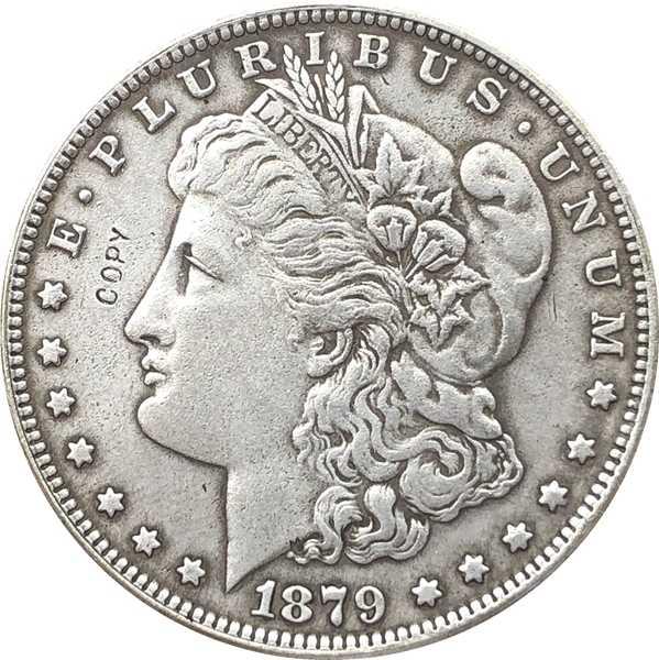 1879-CC EUA Dólar Morgan moedas COPIAR