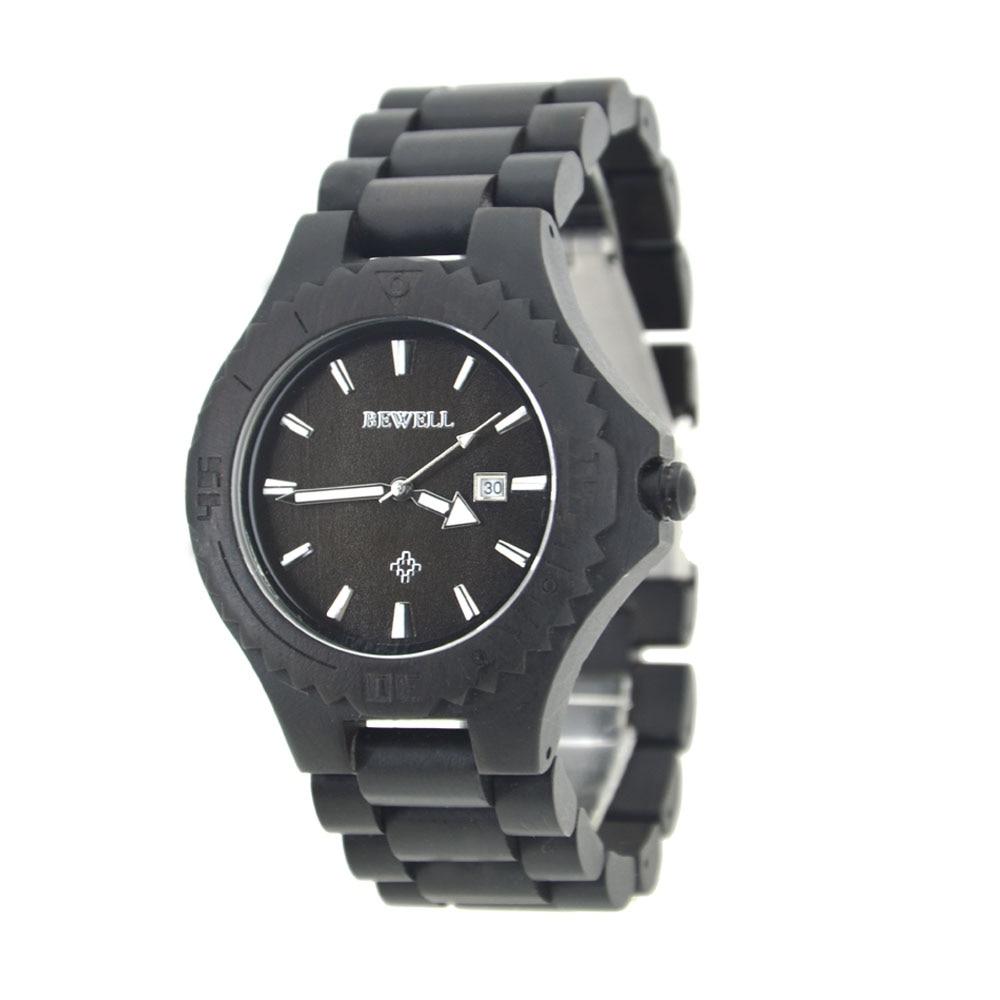 Montre pour hommes rétro Simple décontracté montres en bois affaires santal Quartz montres livraison gratuite vente
