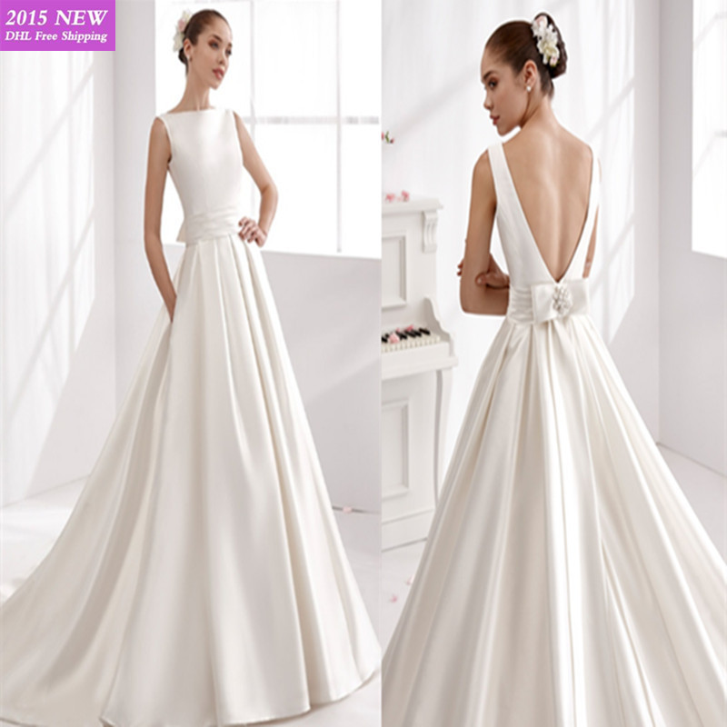 Simple Classic Wedding Dresses