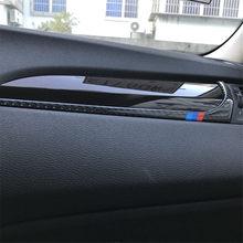 Für BMW X3 F25 X4 F26 2011-2017 Auto Dashboard Dekoration Streifen Carbon Faser Innen