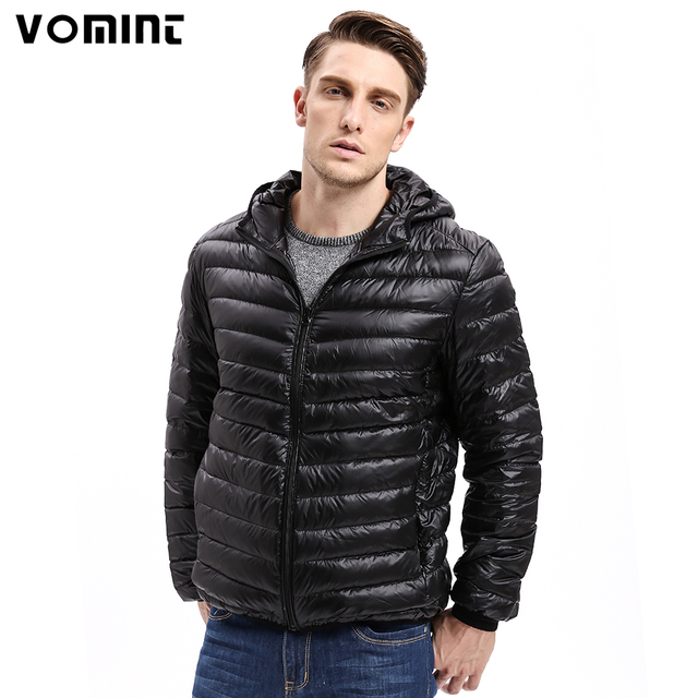 Vomint Brand New Mens Down Coat Jacket Light Fabric Down feather ...