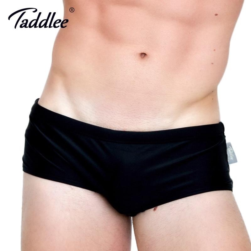 Taddlee merk 2017 nieuwe sexy mannen badmode badpakken zwemmen boxer - Sportkleding en accessoires - Foto 1