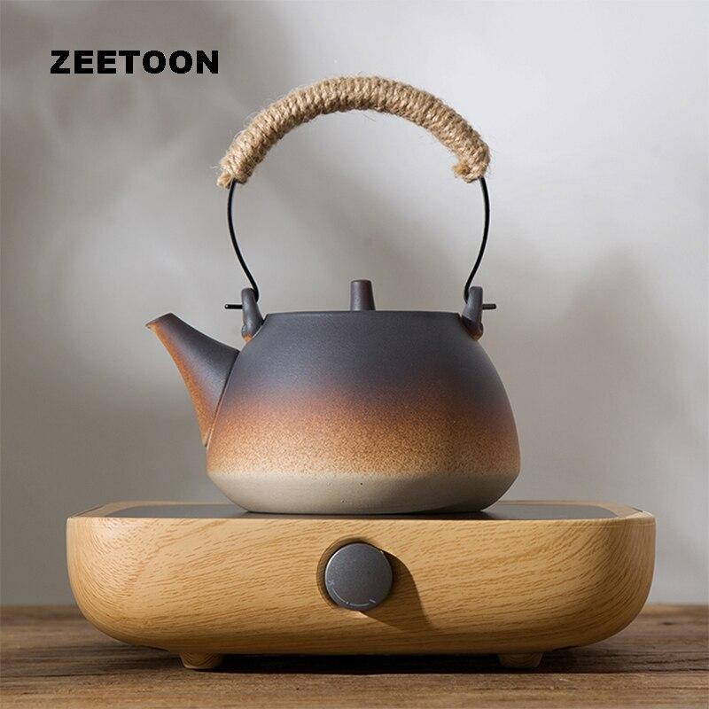 220 В Электронный чайник нагреватель чайная плита набор подогреватель электрические керамические нагреватели набор кофейная чашка кружка г... - 6