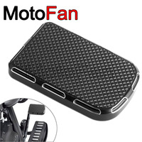 Motorcycle Parts Brake Pedal Pad Foot Peg Cover Replacement For Harley Davidson Touring FLTR FLHR FLHT