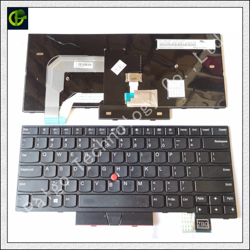 New English Keyboard for IBM LENOVO ThinkPad T480 MT 20L5 20L6 US international standard new for lenovo ibm thinkpad p70 p70s series english us laptop keyboard
