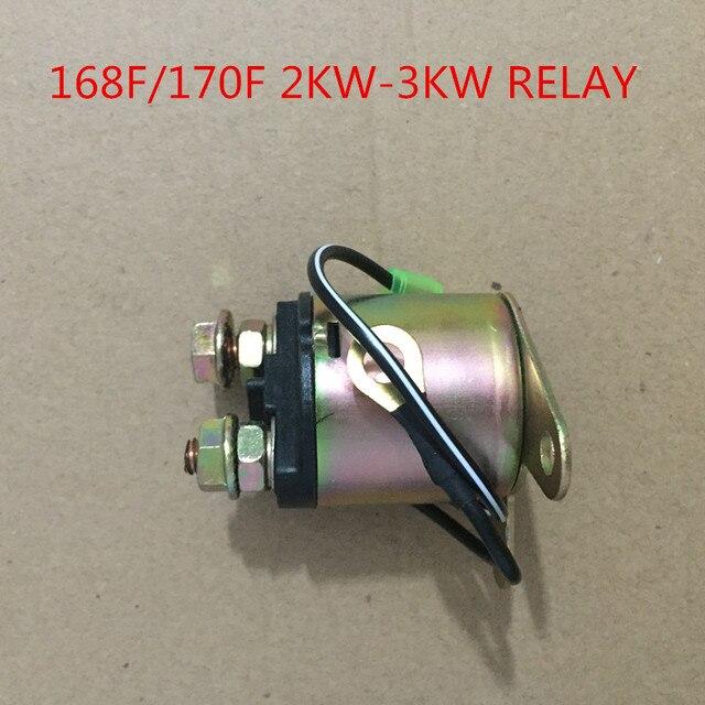 Starter motor solenoid for gasoline generator gx160 gx200 55 65 starter motor solenoid for gasoline generator gx160 gx200 55 65hp eg ec 2200 2500 2600 sciox Choice Image