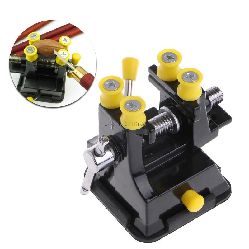 For Mini Osculum Type Bench Clamp On Table Woodworking Vise Fixed Repair Hand Tool Promotion