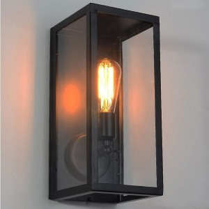 Outdoor Lighting Sconce Clear