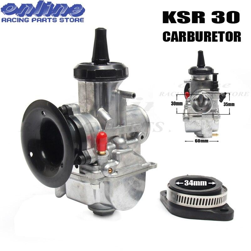 NEW motorcycle 30mm carburetor carb for KSR evolution KIT EVO