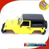 MHPC 1/10 RC Raupen Wrangler Jeep Körper Abdeckung Fit Axial Land Rover D90 RC 4WD Cod. FH34001/FH34002