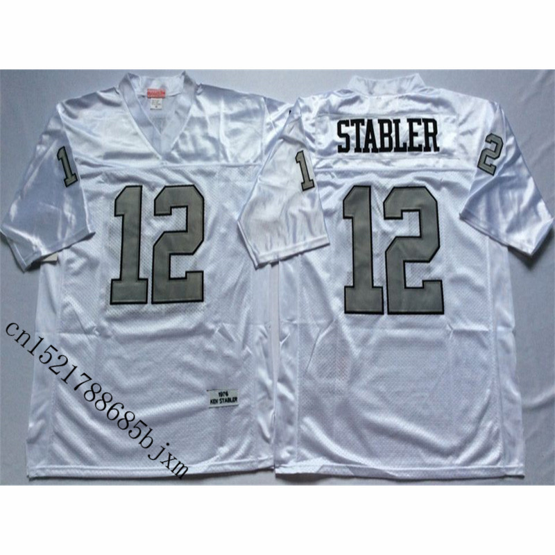 cheap for discount 22891 00eba Mens Retro 1976 Ken Stabler Stitched Name&Number Throwback Football Jersey  Size M 3XL-in America Football Jerseys from Sports & Entertainment on ...