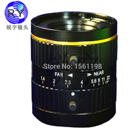 35mm 5 Megapixel C Mount 2/3 F1.4 FA / Machine Vision fixed length lens Industrial camera manual aperture lens