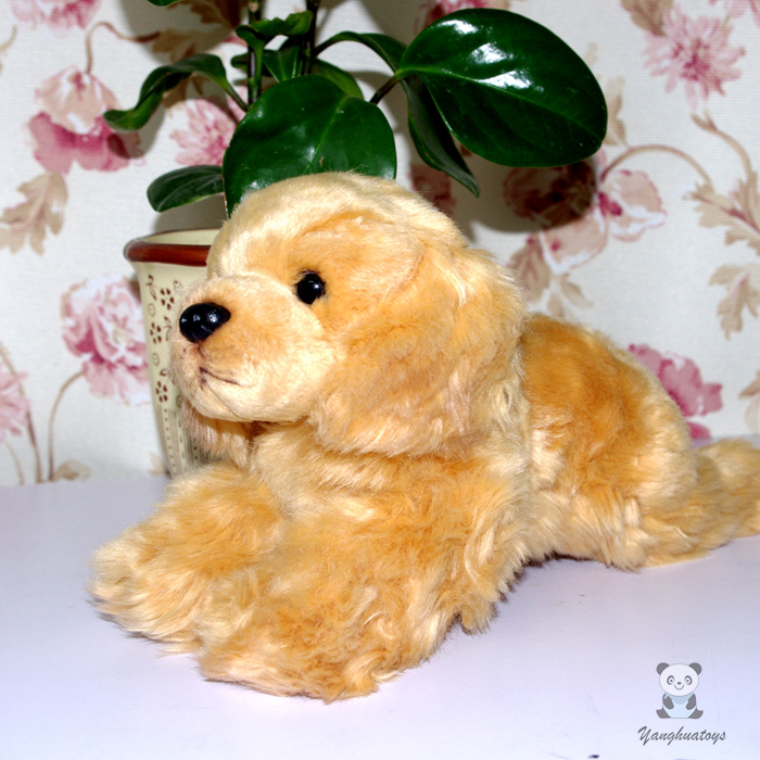 Fine Plush Toys  Golden Retriever  Doll  Home  Car  Decoration  Children'S Toy Pillow  Gift super cute plush toy dog doll as a christmas gift for children s home decoration 20