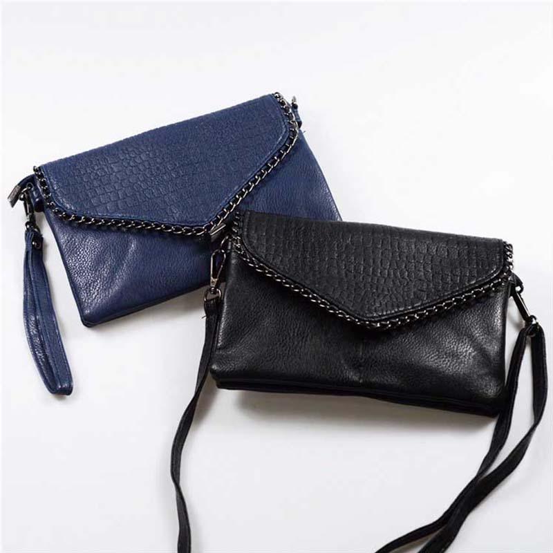 Retro Fashion Alligator Design Women's Clutches Office Lady Pouch Small Shoulder Bags Purse Pocket Messenger Flaps Bag BA180 2