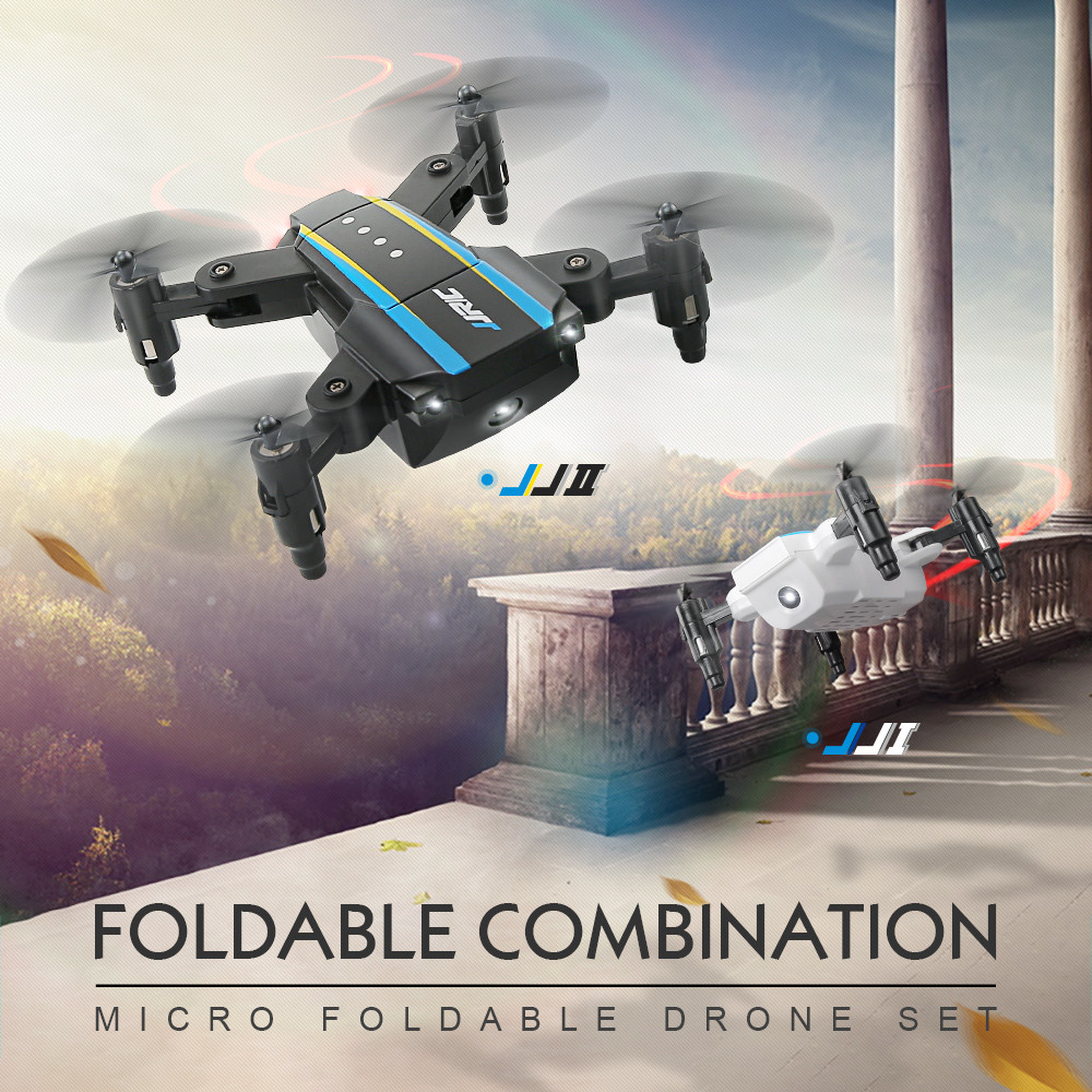 11.11 JJRC H345 JJI X JJII Dual-Aircraft Combination Micro Foldable Drone Quadcopter Set AR Game Christmas geschenk quadcopter ...