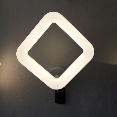 ZYYModern Minimalist LED Wall Lamp Post - modern Minimalist Wall Lamp Aisle Lights Aluminum Wall Lamp Square Wall Lamp Bed Light modern minimalist waterproof antifog aluminum acryl long led mirror light for bathroom cabinet aisle wall lamp 35 48 61cm 1134