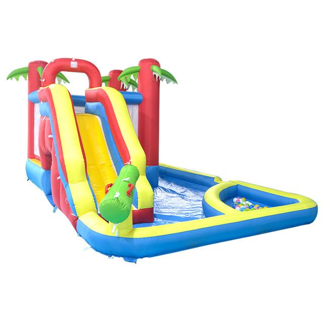 Kingdom Inflatable Bouncy Castle Bounce House moonwalk Jump Inflatable Bouncer Trampoline Water Slide