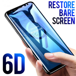6D Full Curved Tempered Glass