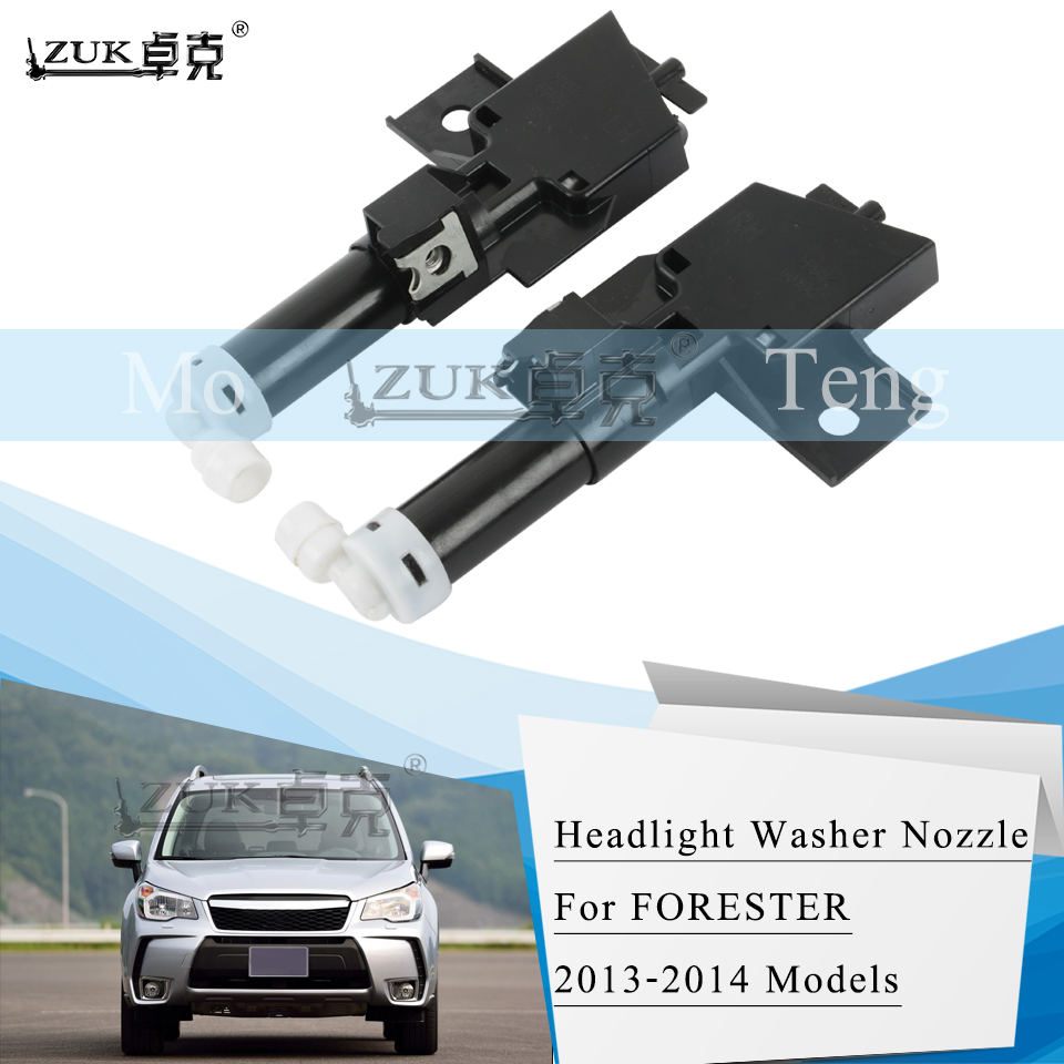 ZUK Headlamp Headlight Water Spray Nozzle Washer Actuator Jet For SUBARU FORESTER SJ 2013 2014 Head