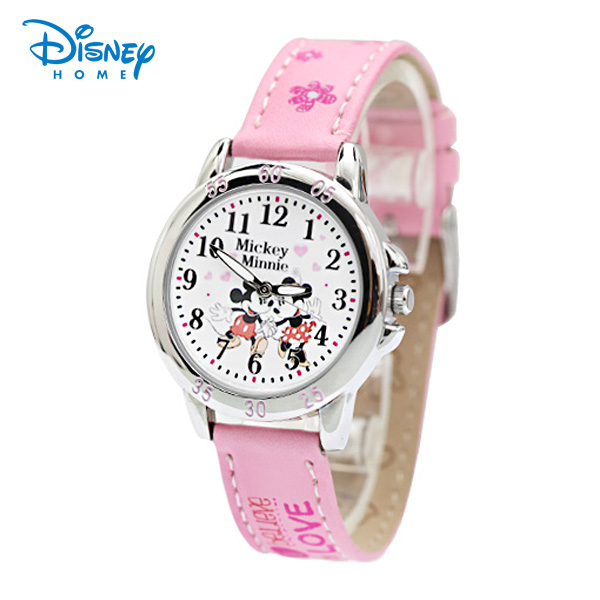 100% Genuine Disney kids watch Mickey Minnie Watches snow white watch Cinderella watches for girls quartz-watch relogio 90311-1