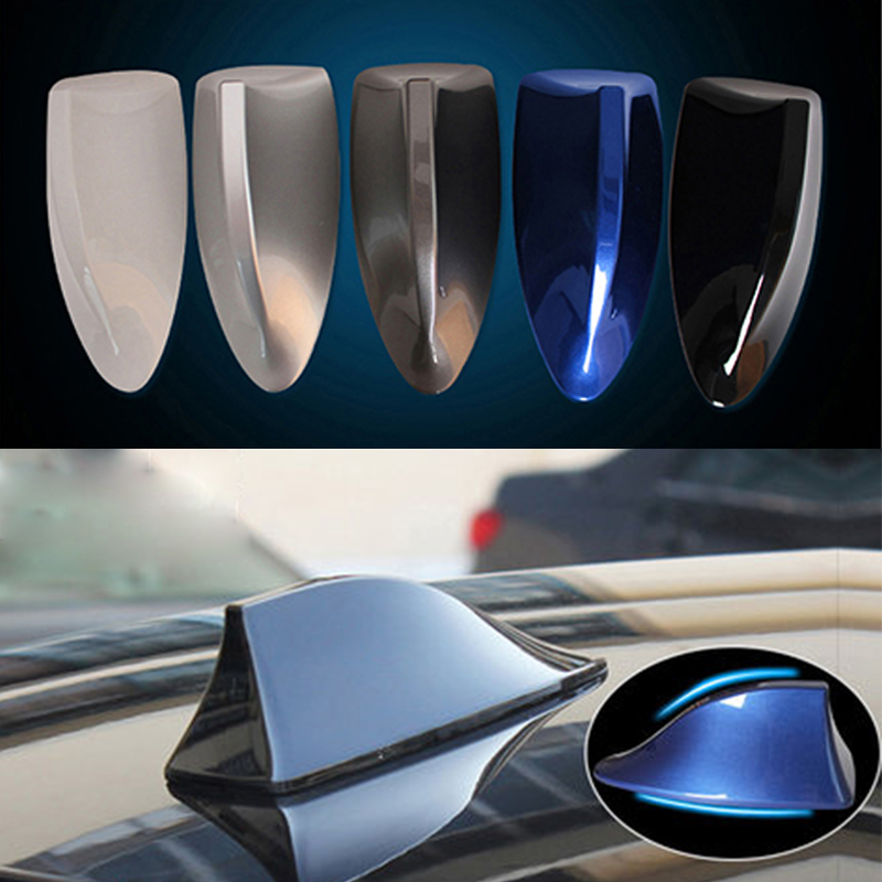 Image 5 - For Mercedes Benz A Class W176 W169 B W246 W245 C W205 W204 W203 2018 Car Shark Fin Antenna Signal Aerials Sticker Accessories-in Car Stickers from Automobiles & Motorcycles