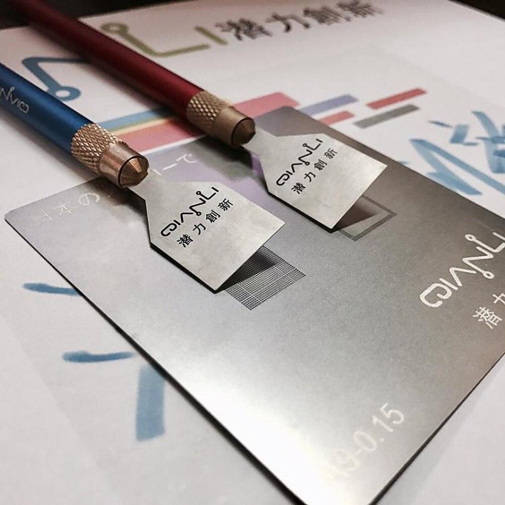 Купить с кэшбэком Machining Tool for iPhone Mobile Phone Scraper blade CPU chip removal pry knife double-head copper handle