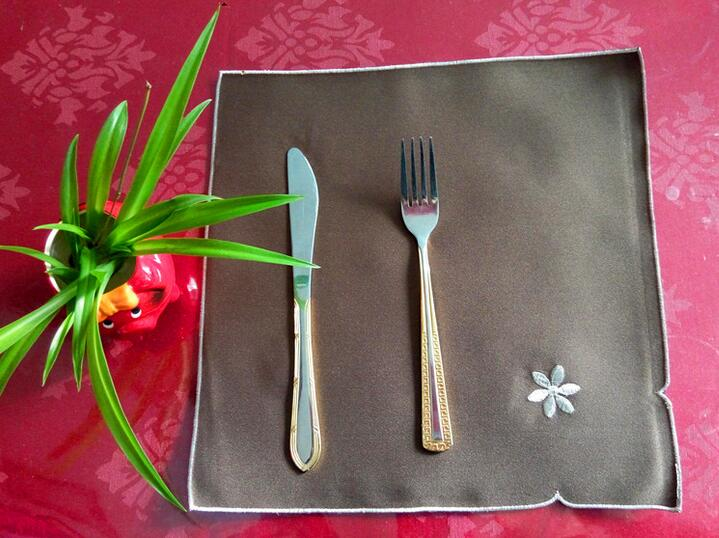 Online kopen wholesale bruin placemats uit china bruin placemats ...