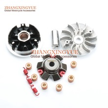 Racing Variator Set For GY6 152QMI 157QMJ 125cc 150cc Chinese Scooter Motorcycle Moped Go Kart 3