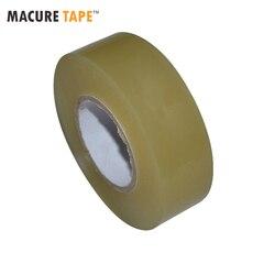 Чистая Хоккейная лента (24 мм * 20 м) спортивная безопасность футбол волейбол баскетбол наколенники Хоккейная лента для локтя сцепление марля