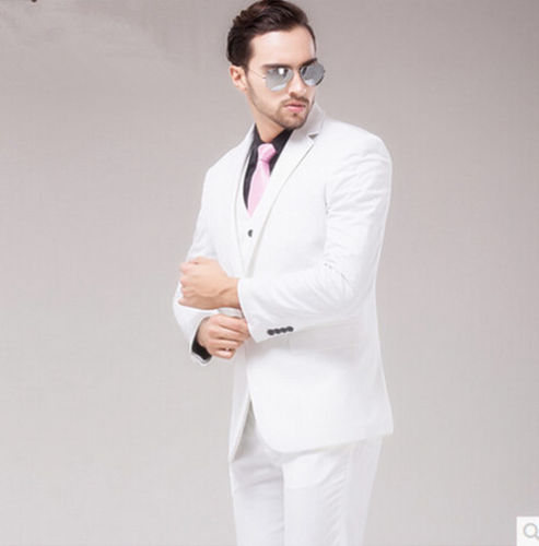 Popular White Suits Men-Buy Cheap White Suits Men lots from China ...
