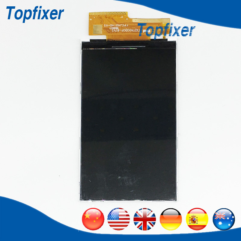High Quality For Explay Easy LCD Screen Digitizer Smartphone LCD Display Spare Parts 1PC/Lot explay для смартфона explay craft