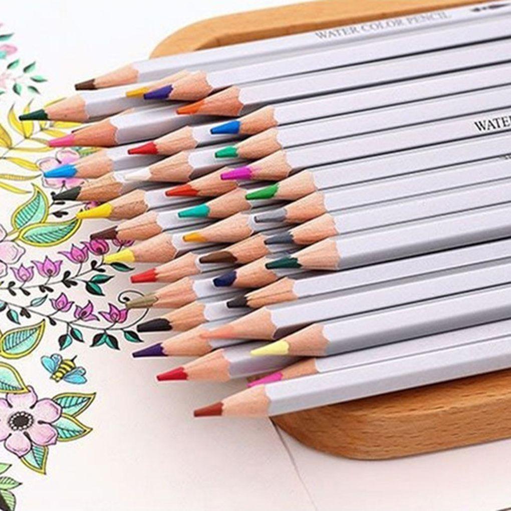 160 couleurs bois crayons de couleur ensemble école dessin croquis peinture huile couleur crayon