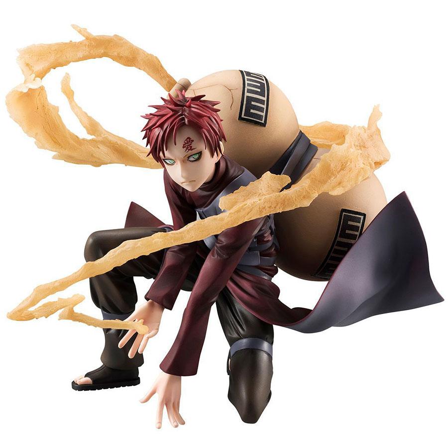 Anime Naruto Shippuen Gaara Pvc Action Figure 15cm Sabaku no Gaara Doll Collection Model Toys Christmas Gift