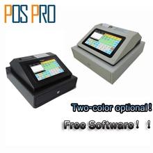 IPCR004 Free Software Ekran Dotykowy Automatyczna Elektroniczna Kasa Pieniądze Wszystko w jednym POZ dla Restauracji/Napoje/mleka/herbata Sklep