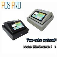 IPCR004 Freie Software Touch Screen Automatische Elektronische Geld Kassen Alles in einem POS für Restaurant/Trinken/milch/tee Shop