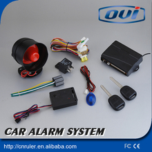 Universal Design For All Kinds Of Cars One Way Anti-hijacking Car Alarm System Remote Control Central Door Lock