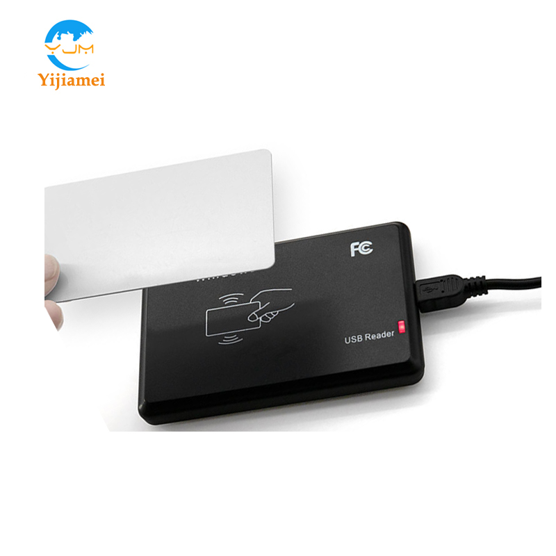 125KHz USB Interface EM4305 T5577 2 in 1 card reader Desktop RFID USB Reader EM4305 and T5577 Card Writer in Control Card Readers from Security Protection