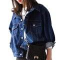 Spring Basic Denim Women Jackets Fashion  Pocket Boyfriend Coats Female Personality Autumn Skiny Loose Jeans Jackets