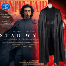 Manluyunxiao Kylo Ren Cosplay Star Wars 9 The Rise of Skywalker Costume  Adult Men Movie Superhero Halloween Boots Ben Solo