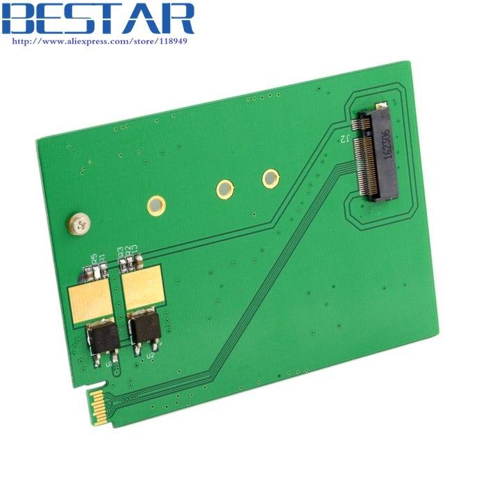 Adaptador de Cartões expresscard Express para NGFF M.2 SATA WD5000MPCK SFF-8784 WD5000M21K WD5000M22K PCBA para Ultrafino SSD Disco Rígido