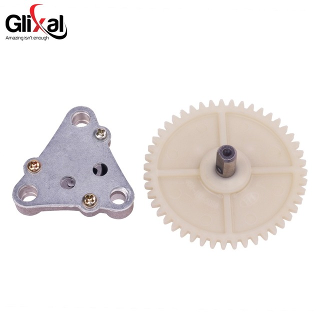 US $2 99 |Glixal GY6 49cc 50cc Fuel Oil Pump Assembly with Fuel Pump  Sprocket Gears for 139QMB 139QMA 22 tooth crankshaft-in Pumps from  Automobiles &